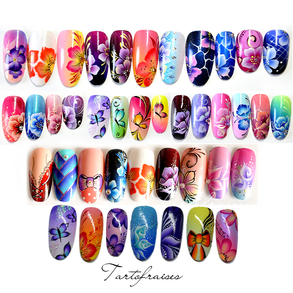 Formation Nail Art By Tartofraises Benesse-Maremne @ Lashes Nails formation